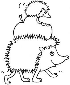 målarbok Hedgehogs (14)