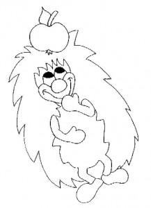 målarbok Hedgehogs (19)