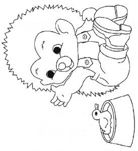 målarbok Hedgehogs (23)