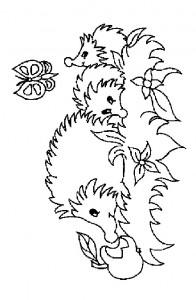 målarbok Hedgehogs (27)