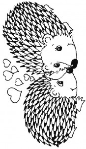 målarbok Hedgehogs (30)