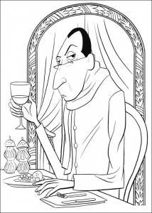 coloring page ego
