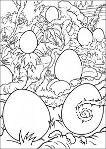 Coloriage Oeufs