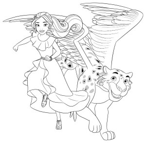 coloring page Elena Jaquin