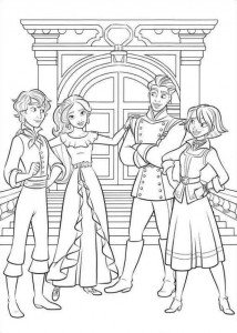 coloring page Elena from Avalor (10)