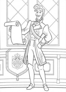 coloring page Elena from Avalor (11)