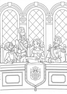 coloring page Elena from Avalor (13)