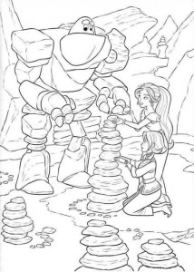 coloring page Elena from Avalor (14)