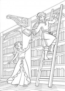 coloring page Elena from Avalor (16)