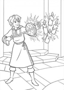 coloring page Elena from Avalor (17)