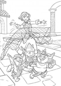 coloring page Elena from Avalor (22)