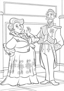 coloring page Elena from Avalor (4)