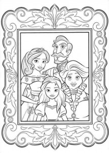coloring page Elena from Avalor (5)