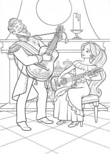 coloring page Elena from Avalor (7)