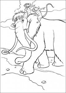 coloring page Ellie, Eddie og Crash