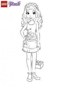 coloring page emma