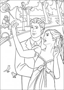 coloring page Enchanted (2)