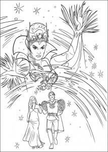 coloring page Enchanted (7)