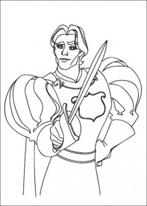coloring page Enchanted