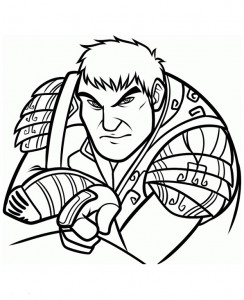 coloring page Epic (1)