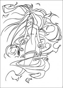 coloring page Eris (2)