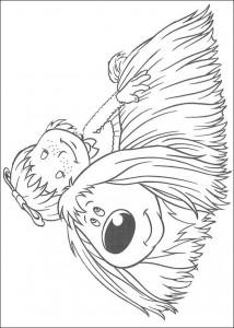 målarbok Ermintrude och Dougal