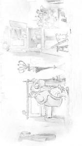 kleurplaat Ernest en Celestine (9)