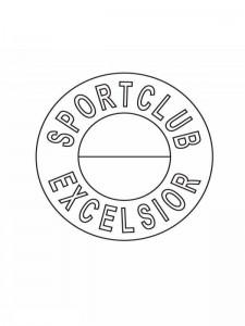 kleurplaat excelsior