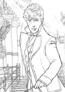 coloring page fantastic-beasts-12
