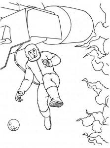 kleurplaat Fantastic Four (15)