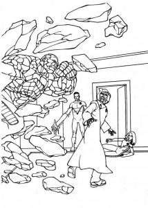 målarbok Fantastic Four (19)