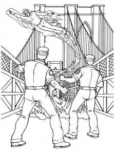 coloring page Fantastic Four (21)