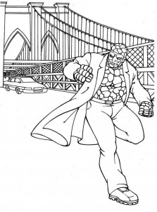 coloring page Fantastic Four (22)