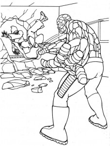 coloring page Fantastic Four (25)