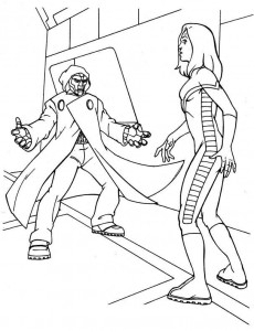 coloring page Fantastic Four (28)