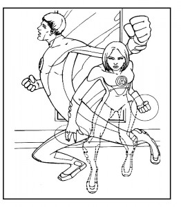 coloring page Fantastic Four (31)