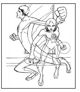 målarbok Fantastic Four (31)