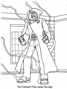 coloring page Fantastic Four (34)