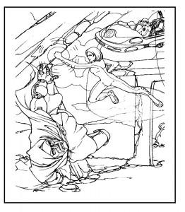 målarbok Fantastic Four (38)