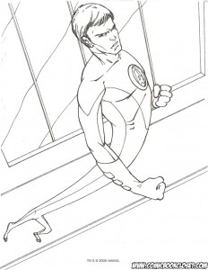 coloring page Fantastic Four (46)