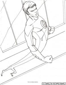 målarbok Fantastic Four (46)