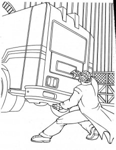 coloring page Fantastic Four (9)