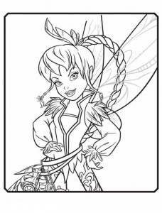 coloring page Faun