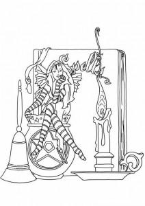 målarbok Fairies (11)