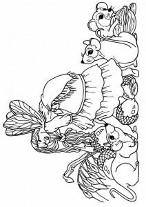 målarbok Fairies (12)
