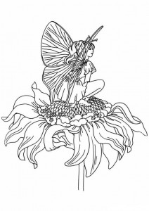 coloring page Fairies (14)