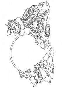coloring page Fairies (15)