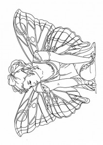 coloring page Fairies (18)