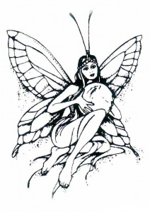 coloring page Fairies (19)