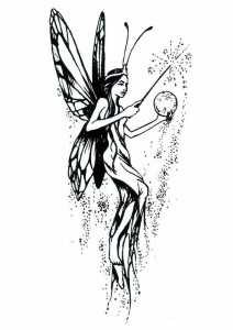 coloring page Fairies (6)